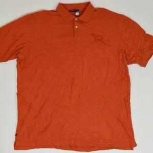 Rocawear Big & Tall 3XL Orange   Polo Cotton solid